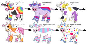 LGBT PRIDE FLAG THEMED COW ADOPTS! - CLOSED