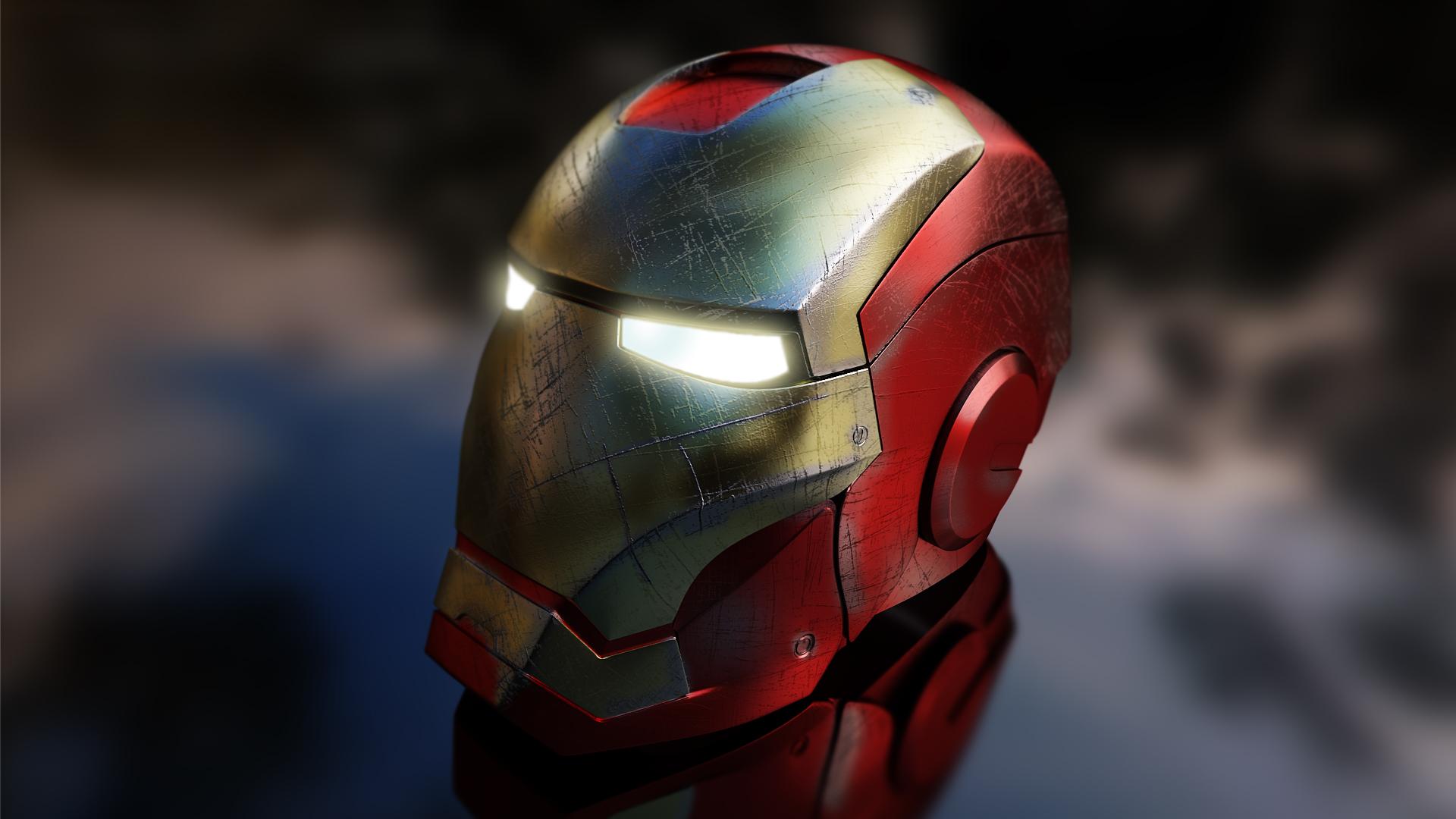 iron man helmetattilamarton on deviantart