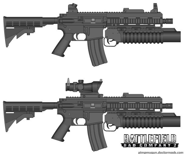 M416 w m203 bad company 2 by wilczur335 on deviantart - M416 wallpaper ...