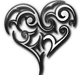 Iconic Imagery - Tribal Heart v2
