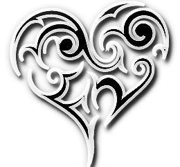 Iconic Imagery - Tribal Heart v1