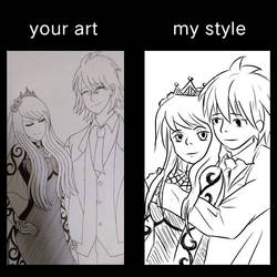 Your Style My Style Meme - Deadly Couple by Ming-Sketches