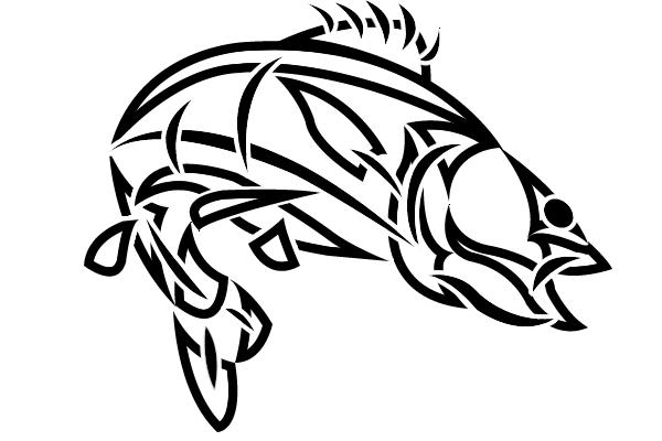 tribal walleye fish by ojibway doko on deviantart rh ojibway doko deviantart com Walleye Silhouette Printable Walleye