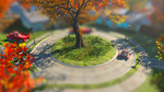 Miniature Sanctuary Pre-war Roundabout by JustInspired