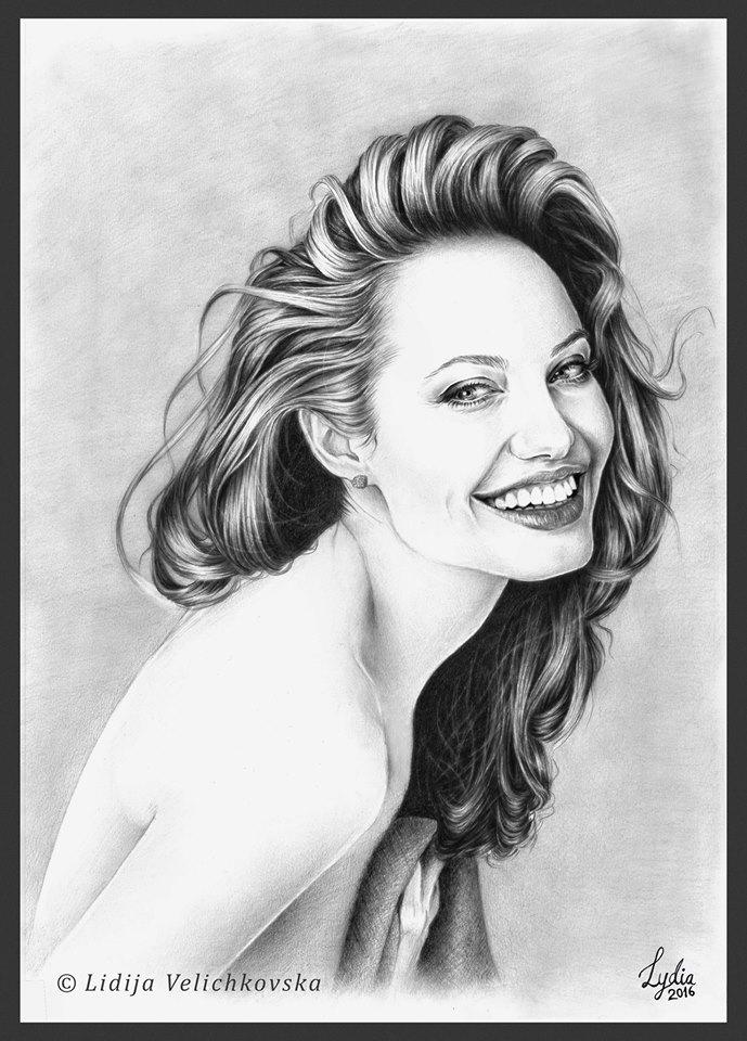 Angelina Jolie by lidetoo