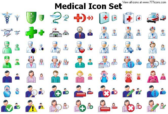 Medical Icon Set by alexwhite2