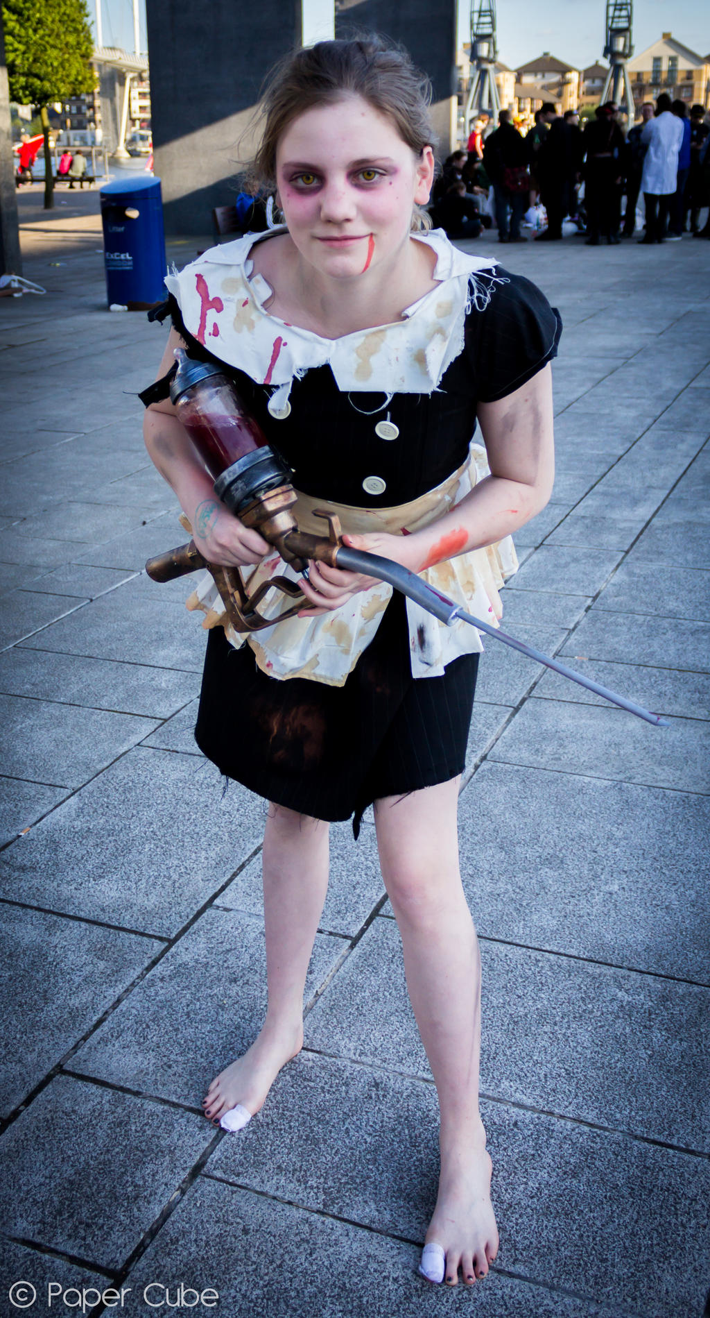 Little Sister - Bioshock - London MCM Expo @ExCel by Paper-Cube