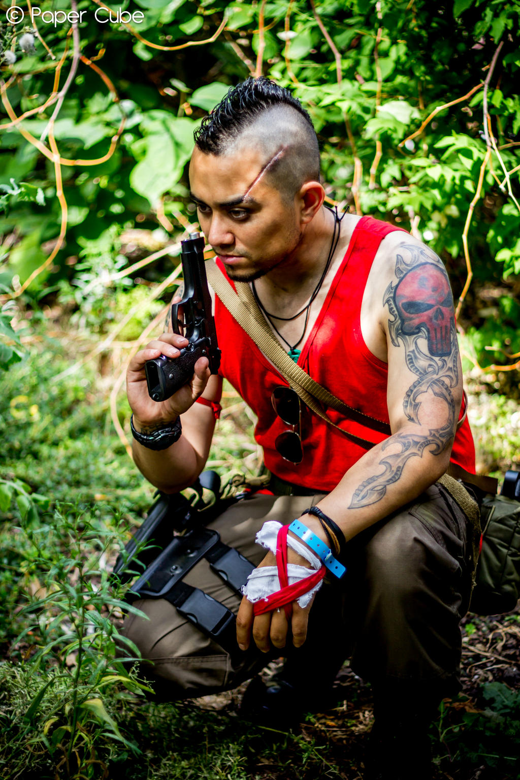 Vaas Montenegro - Far Cry 3 by Paper-Cube on deviantART