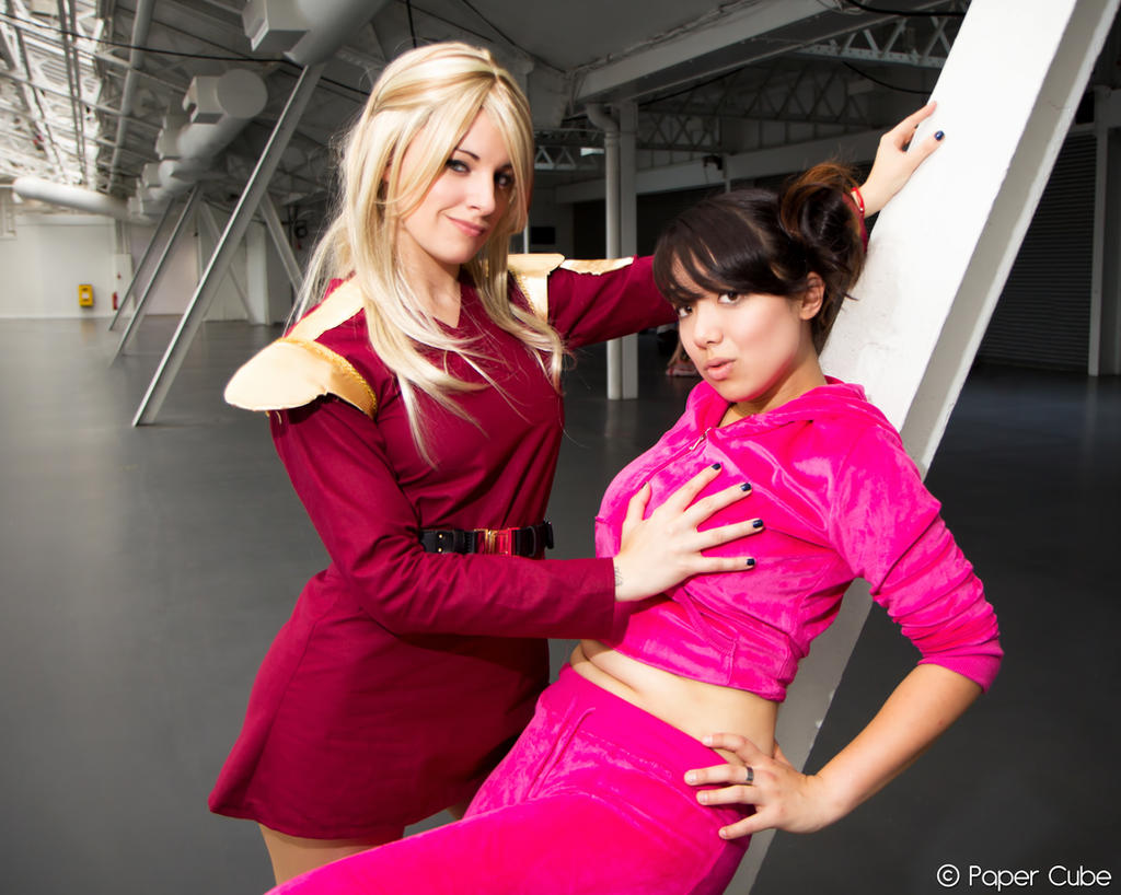 - zapp_brannigan_and_amy_wong___futurama_by_paper_cube-d6q2ikv