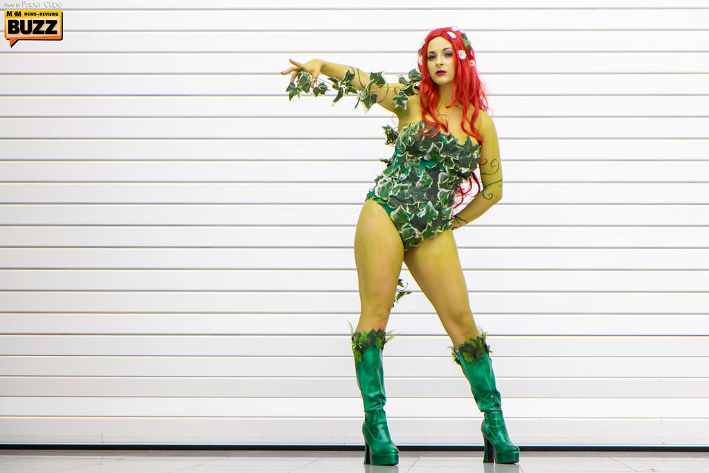 Poison Ivy - DC Comics by Paper-Cube