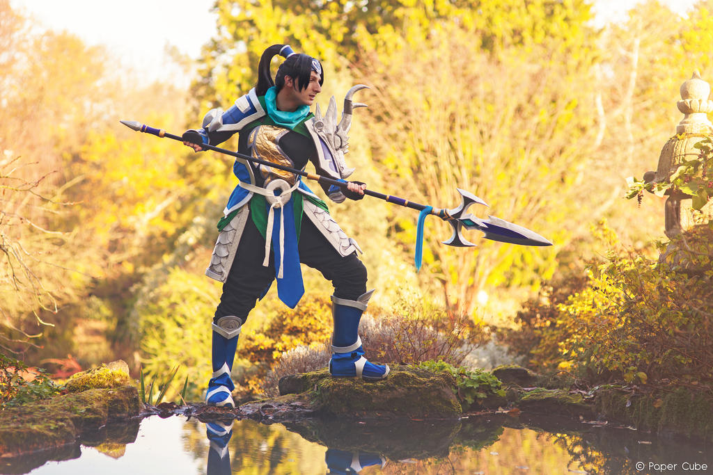 Warring Kingdom Xin Zhao - League of Legends by Paper-Cube ...