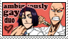 Bleach: Ambiguously Gay stamp by Schreiend