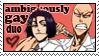 Bleach: Ambiguously Gay stamp by Schreiend