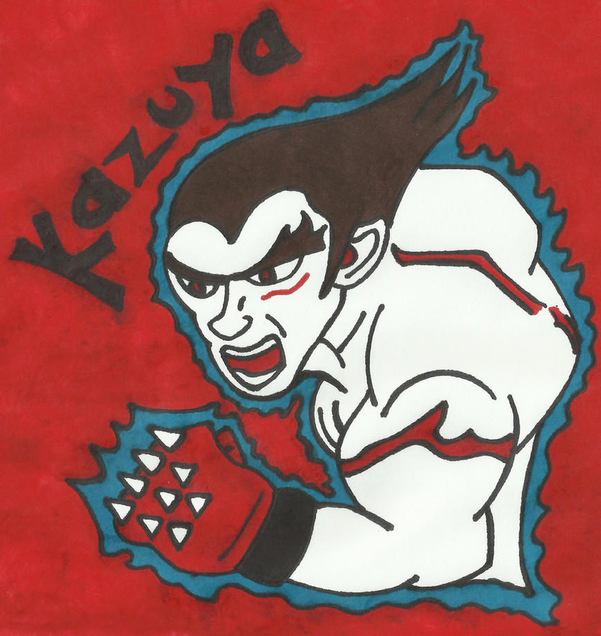 Kazuya [Sharpie Fighters Edition] by LudeMagik