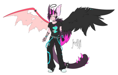 [Comm] Edgy Outfit