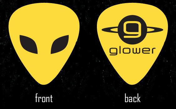 Glower Guitar Picks by graelignites