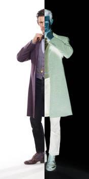 Matt Smith as Two-Face