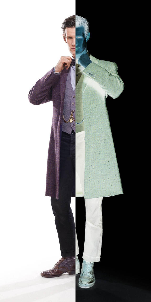 Matt Smith as Two-Face by 120dog