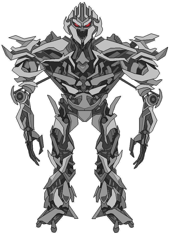 Decepticon commander megatron by darklordjadow on deviantart for Transformers coloring pages megatron