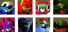 Virtuaroid icons by DarkLordJadow