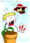 Alubee attacks Anderplant
