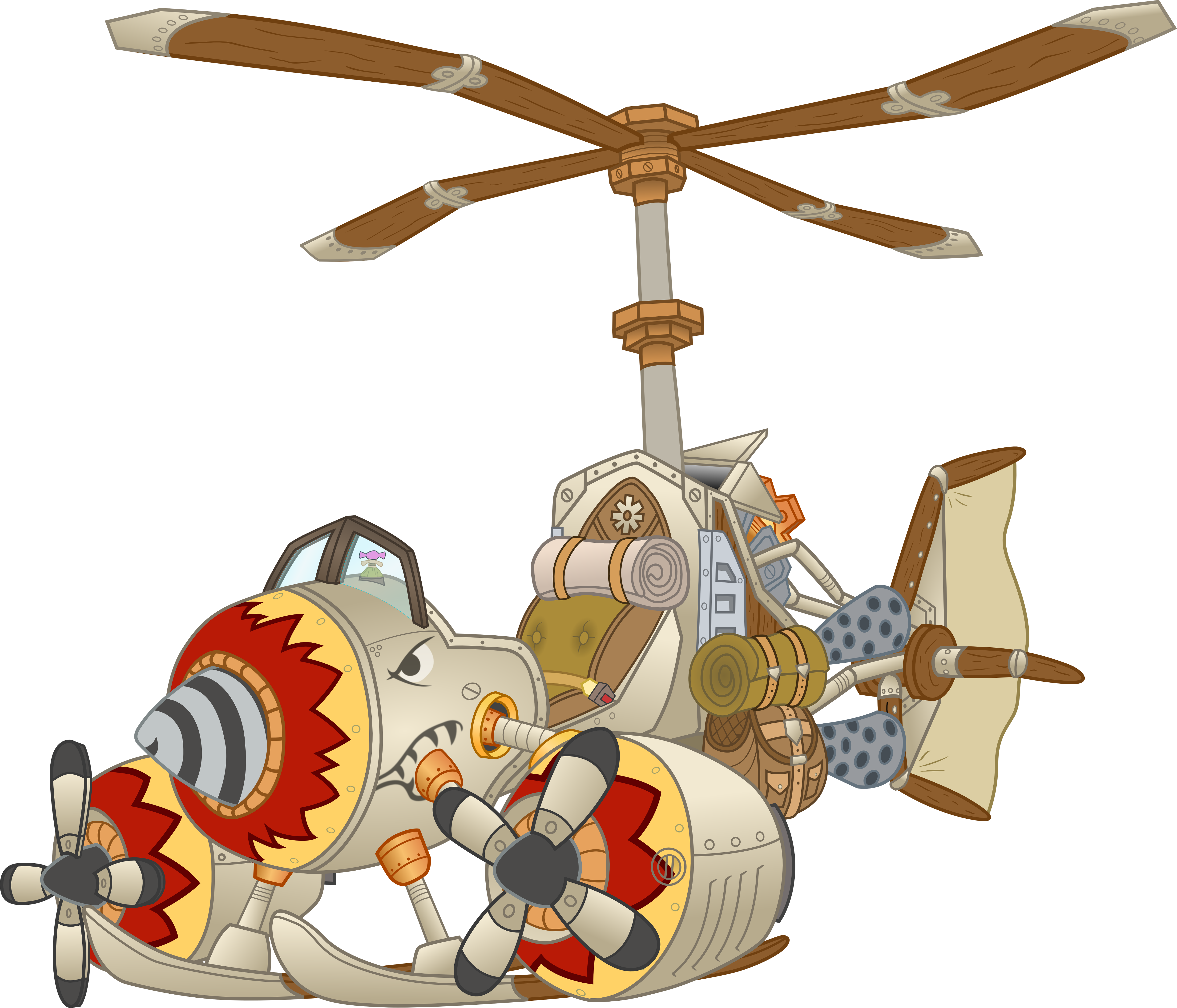 turbo charged flying machine