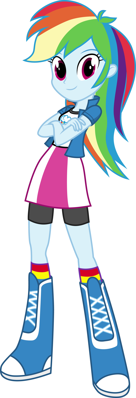 Rainbow Dash - Equestria Girls by Starbolt-81