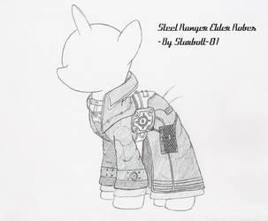 FO:E Steel Ranger Elder robes concept by Starbolt-81