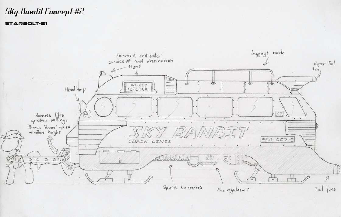 FO:E concept design for 'Sky Bandit' by Starbolt-81