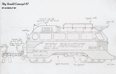 FO:E concept design for 'Sky Bandit'