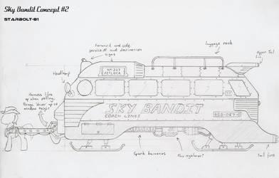 FO:E concept design for 'Sky Bandit' by Starbolt-81