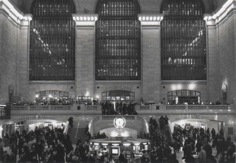 New York - Grand Central by LJNPhotography