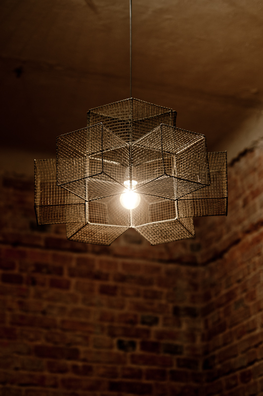 Snowflake cage chandelier pendant light by herywalery