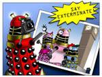 Dalek Family Vacation