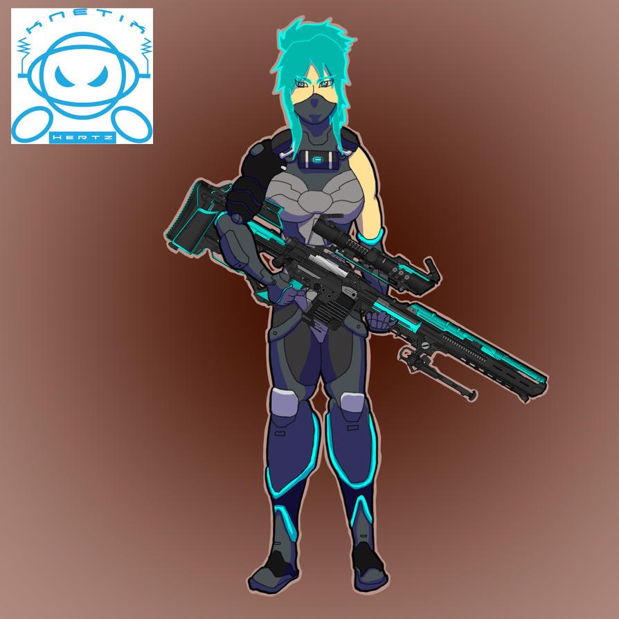 Sniper-girl by KnetixHertz