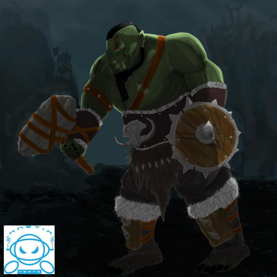 Orc by KnetixHertz
