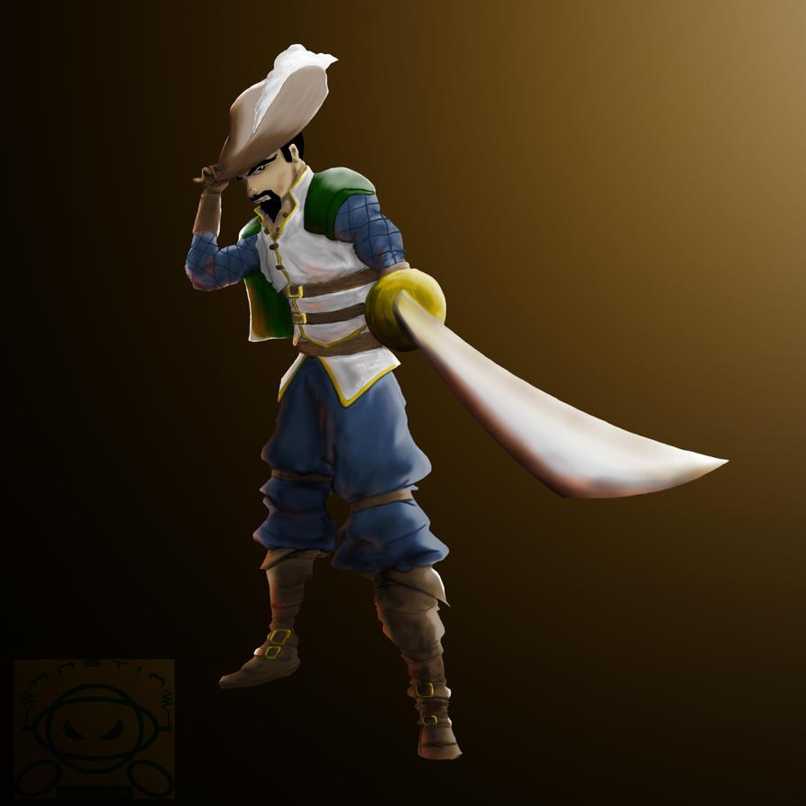 Musketeer by KnetixHertz
