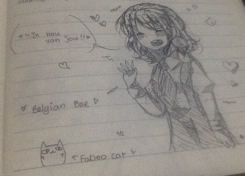 ~ Bel has sent someone a message~ by P-inko