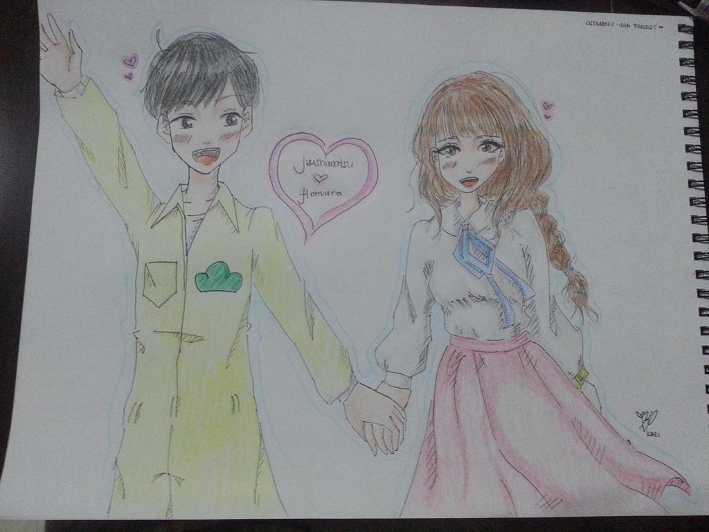 [Kari] Jyushimatsu and Homura~ by P-inko