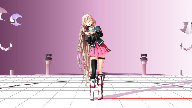 [MMD] testing !! by P-inko