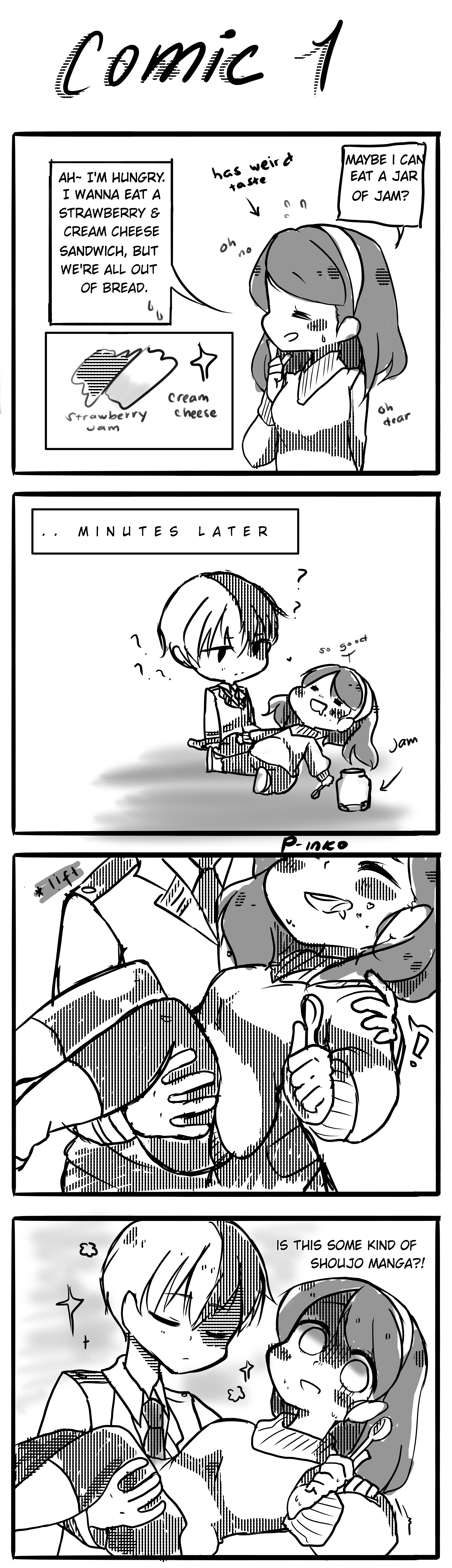This isnt a shoujo manga by P-inko