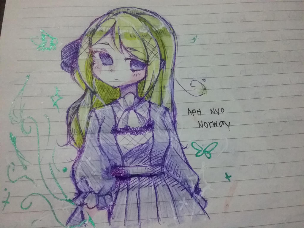 Nor doodle. by P-inko