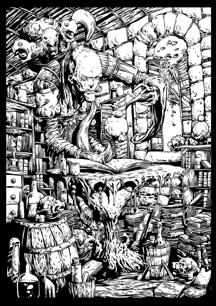 Wizard inks by koreybarton
