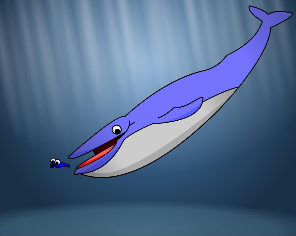 A whale eat fish world by autoacat on deviantart for The fish that ate the whale
