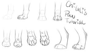 Paw tutorial by Chi-lali