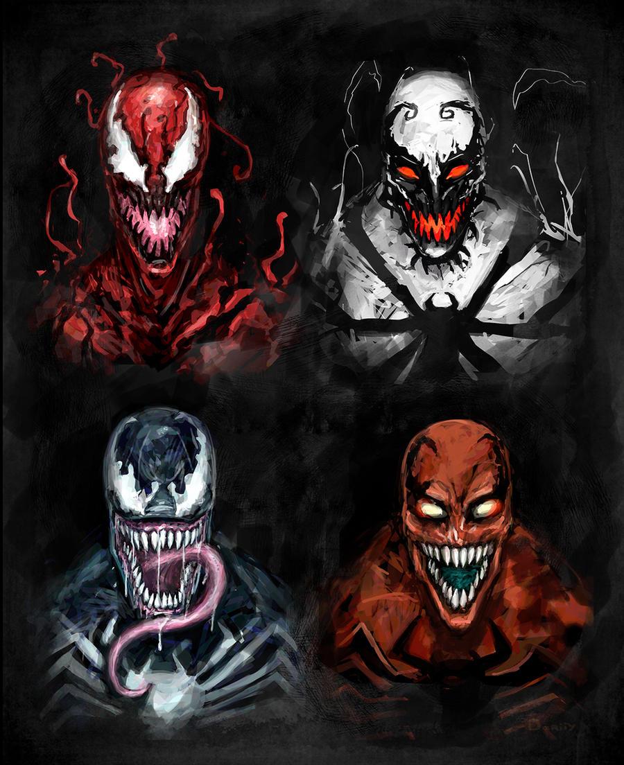 Symbiotes by dariiy on DeviantArt