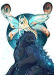 Goji and Mothra