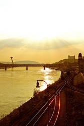 Bratislava from Apollo bridge