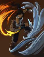 Legend of Korra by LeishaRiddel