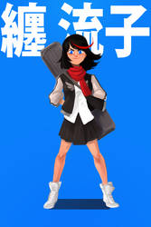 Kill La Kill Set: Ryuko Matoi